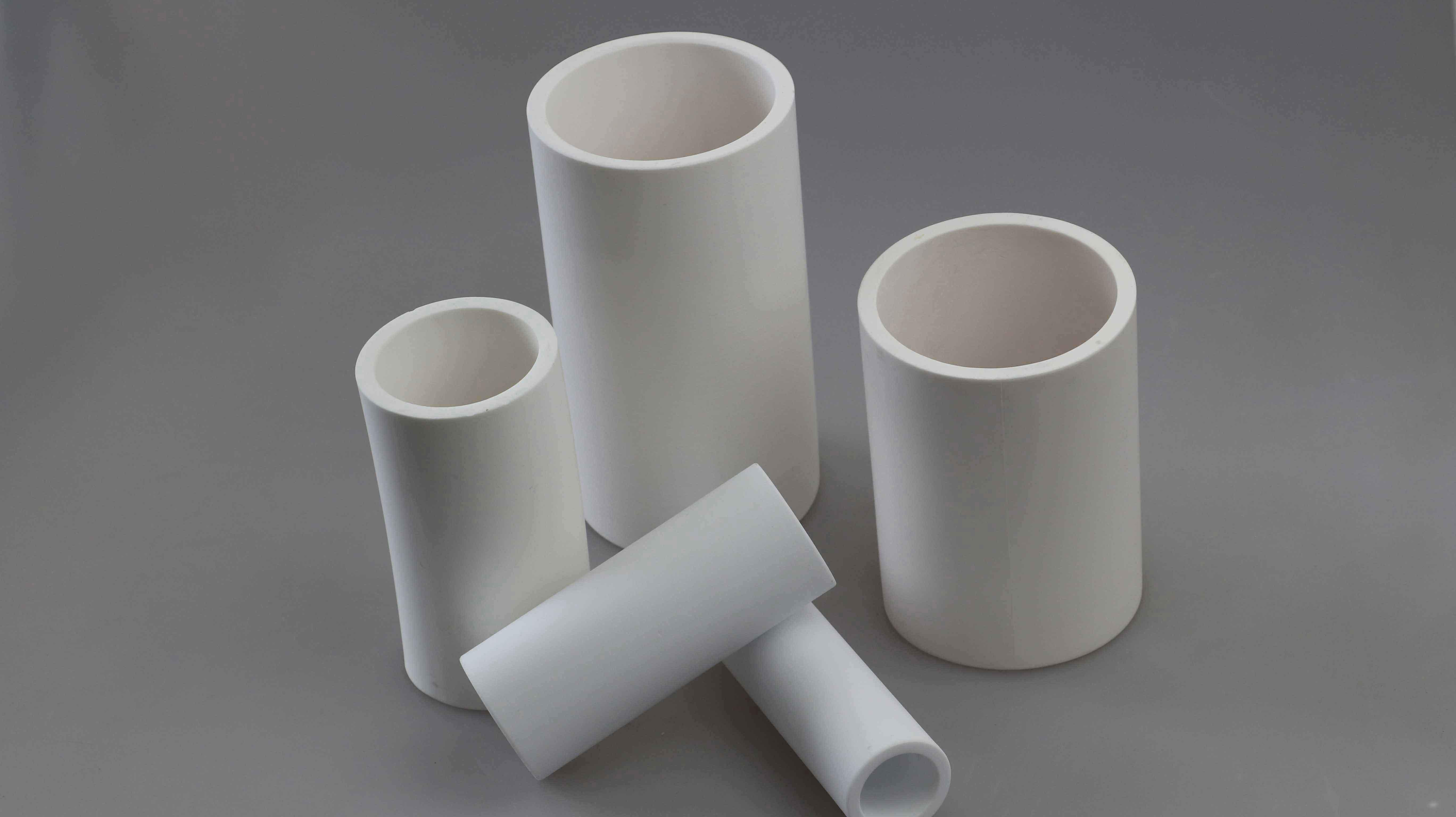 Wear-resistant ceramic tube